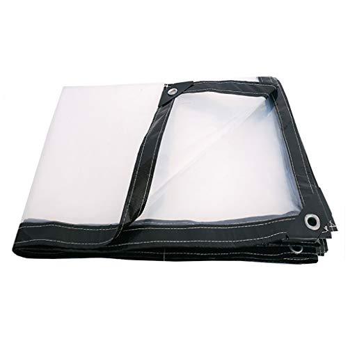 Yang Transparente Lona Lona Tela Impermeable Tela Impermeable Espesar Tela De Plastico Tela De Lluvia 2 × 3M - Opciones de tamaño múltiple (Tamaño : 3×4M)