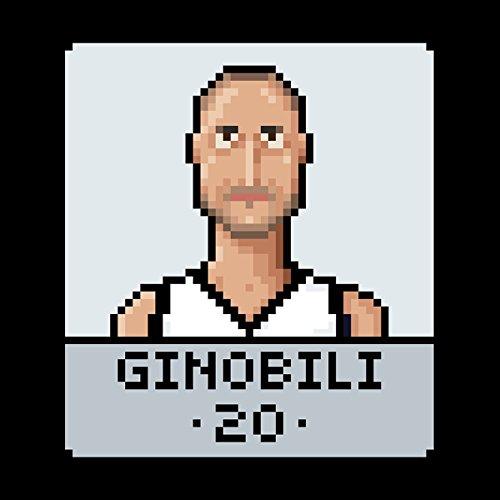 Manu Ginobili Pixel Men's Vest Black