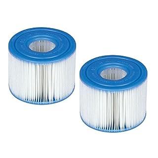 Intex - PACK DE 6 - Lot de 2 cartouches de filtration pour SPA INTEX soit 12 cartouches