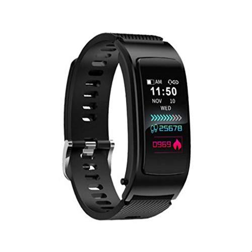 Fitness Tracker Smart Armband Bluetooth-Headset Combo Separate Anrufüberwachung Herzfrequenz Blutdruck Männer und Frauen Schrittzähler Multifunktions-Farbbildschirm Sportuhr Farb-multifunktions-navigations-display