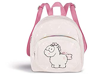 NICI Theodor & Friends 1/2019 Theofina Mochila, Color Blanco/Rosa (43262)