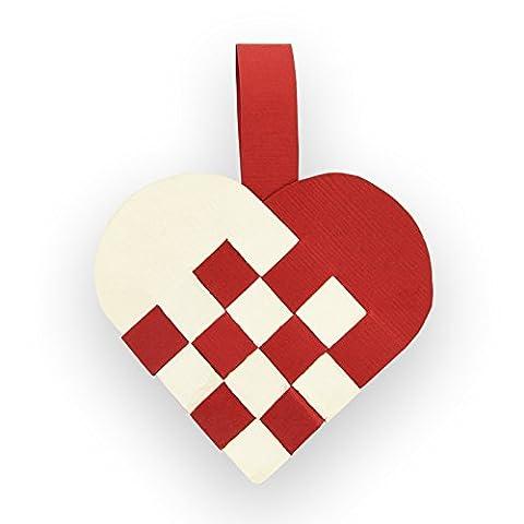 Sizzix Thinlits Die Set 2PK - Woven Heart, multicolour