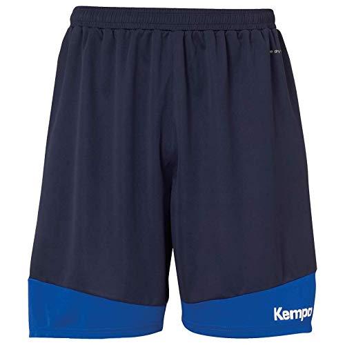 Kempa Kinder Emotion 2.0 Shorts Hosen, Marine/Royal, 164
