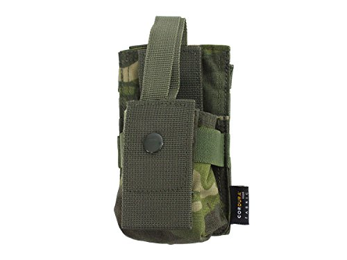 BE-X Modulare Funkgeräte / GPS Tasche mit verstellbarer Sicherung - multicam tropic