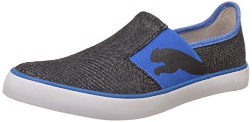 32a05c837da Puma Unisex Lazy Slip On II DP Black and French Blue Sneakers - 3 UK  ...