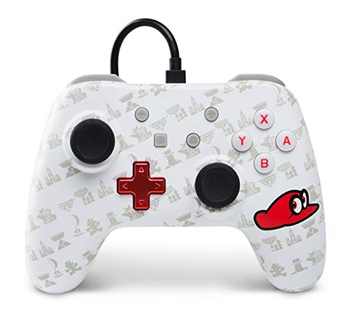 Wired Controller for Nintendo Switch - Mario Odyssey, Cappy Edition [Edizione: Regno Unito]