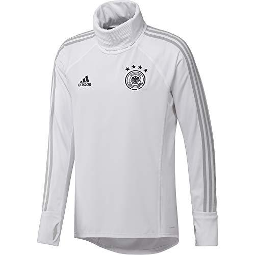 adidas Herren DFB Warm Top White/Grey Two f17/Black, 3XL -