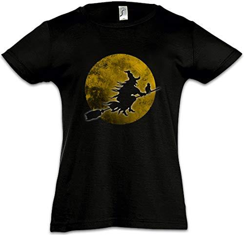 (Witch Moon Mädchen Kinder Kids T-Shirt)