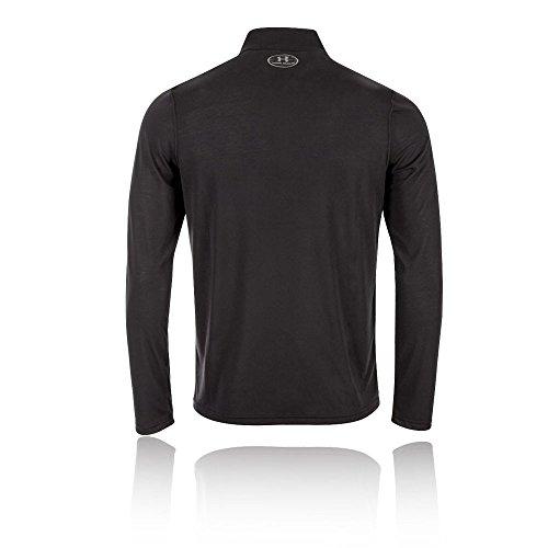 Under Armour HeatGear Threadborne 1/4 Zip Trainingsshirt Herren Black