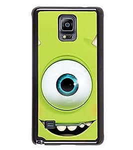 PrintVisa Single Opened Eye High Gloss Designer Back Case Cover for Samsung Galaxy Note 4 :: Samsung Galaxy Note 4 N910G :: Samsung Galaxy Note 4 N910F N910K/N910L/N910S N910C N910FD N910FQ N910H N910G N910U N910W8