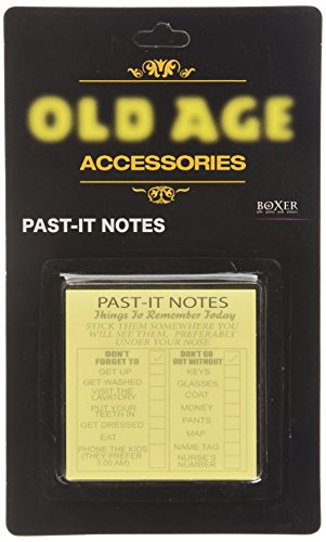 Old Age Past-It Notes - Hilarious Birthday Gift