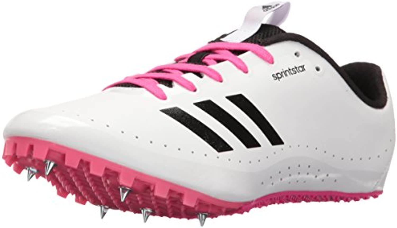 Adidas Performance Sprintstar W W W Scarpe da Corsa, Bianco Bianco verde, 5 M US | Bella E Affascinante  7ab8b9