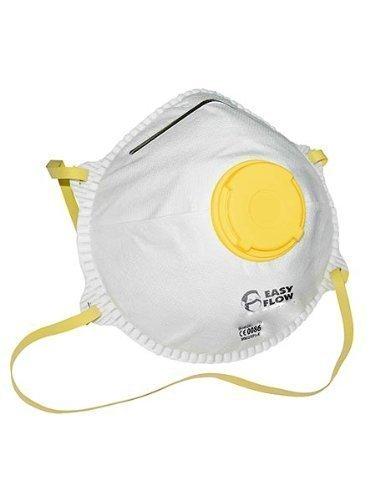 Preisvergleich Produktbild 10x Atemschutz Staubschutzmaske Maske mit Ventil FFP1