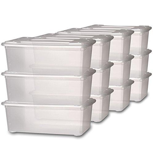 Caisse de rangement plastique - Caisse plastique rangement ...