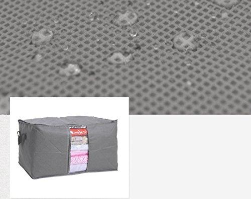 Starcrafter Farbe Große Quilts Aufbewahrungstasche Kleidung Finishing Aufbewahrungsbox Faltbare mit Reißverschluss Jumbo Bag 60 x 35 x 40cm (Orange) Grün