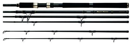 Shimano BeastMaster S.T.C. Shore-Boat Twin Tip, 28-122g/150-300g, 5 teilige Bootsrute, 2.40m/3.00m