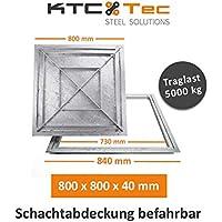 Schachtabdeckung Aluminium SAP-60//5A Schachtdeckel auspflasterbar 600x600