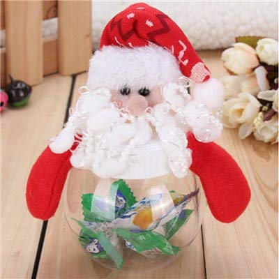 Santa Claus Ornaments Diy Decoration Gift Bottles Bag Suger Can Tabletop - Toys Crutches Umbrella Chef Passport Scooter King Polish Toddler Glasses Suitcase Herbs Littl ()