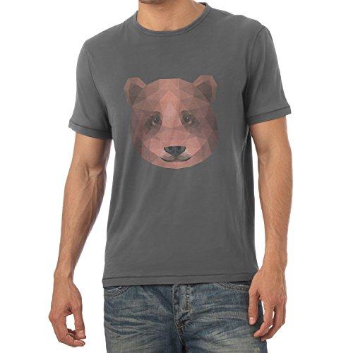 TEXLAB - Polygon Bearface - Herren T-Shirt Grau