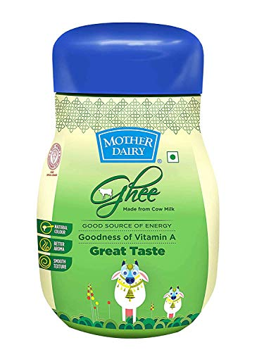 Mother Dairy Cow Ghee, 500ml Pet Jar