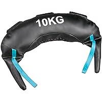 Softee Equipment Bulgaro Saco de Entrenamiento Funcional de Boxeo, Hombre, Blanco, S