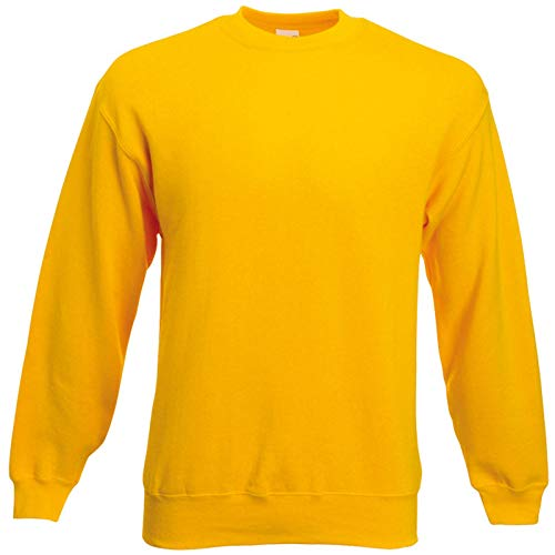 Fruit of the Loom Herren 62-202-0 Sweatshirt Sonnenblume, m