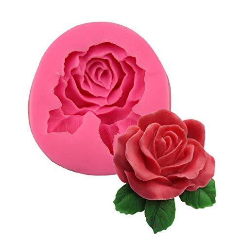 Oddity Molde Líquido Silicona Forma Rosa Grande Fondant