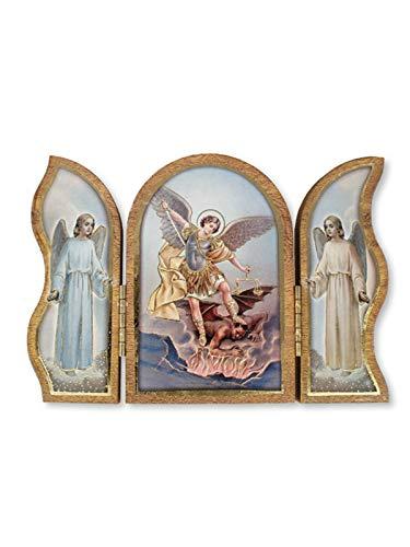 C BC - Plaque Pliante ou triptyque St Michael