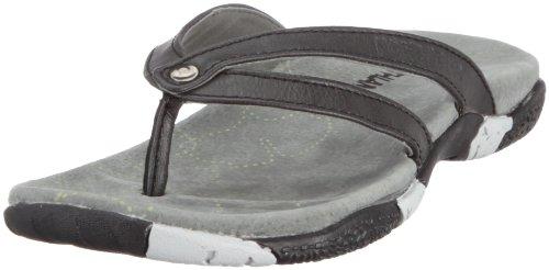 Northland Professional Asolo Leather Ls Sandal 02-05011, Tongs femme NoirTRB2222