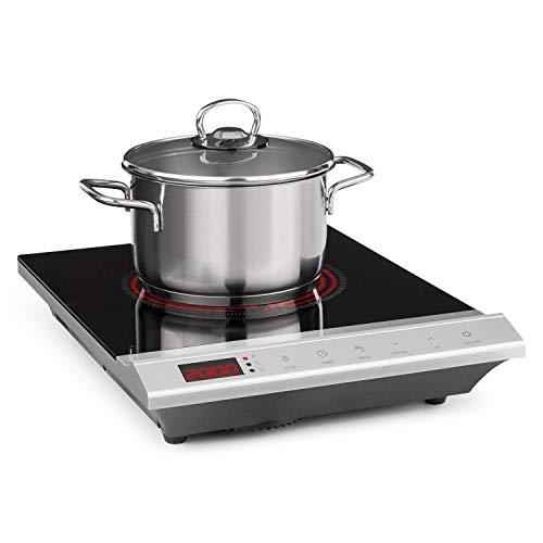 Klarstein MisterCook placa de cocina • Cocina de inducción • 2000 W...