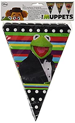 Amscan Banner Pennant Muppets : everything 5 pounds (or less!)