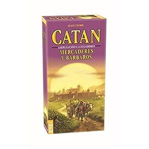 Devir – Catan, Mercaderes y Bárbaros, juego de mesa (BGMER56) – Ampliación para 5 y 6 jugadores