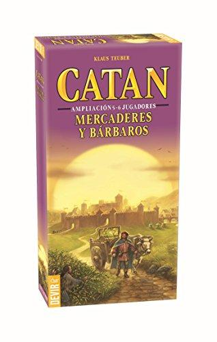 Foto de Devir Catan, Mercaderes y Bárbaros, juego de mesa (BGMER56) - Ampliación para 5 y 6 jugadores