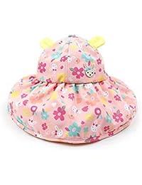 CFHJN Home Sombrero de Mujer Primavera y Verano Sombrero Anti Sol Sombrilla  de Playa para niños Mezcla de ala Grande Sombrero (Tamaño … cc730fdebe4f