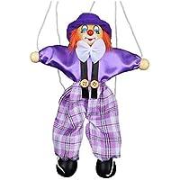 Marionetten-Handpuppe für Kinder, aus Holz, bunt, Marionette, Interaktives Spielzeug für Kinder, Clown-Puppe preisvergleich bei billige-tabletten.eu