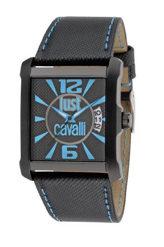 Just Cavalli - R7251119001 - Montre Homme - Quartz Analogique - Bracelet Cuir Noir
