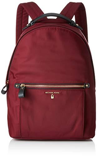 Michael Kors Damen Kelsey Nylon Backpack Rucksack, Violett (Plum), 10,8x37,5x29,8 cm