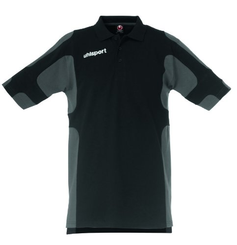 uhlsport Poloshirt Cup schwarz/anthrazit