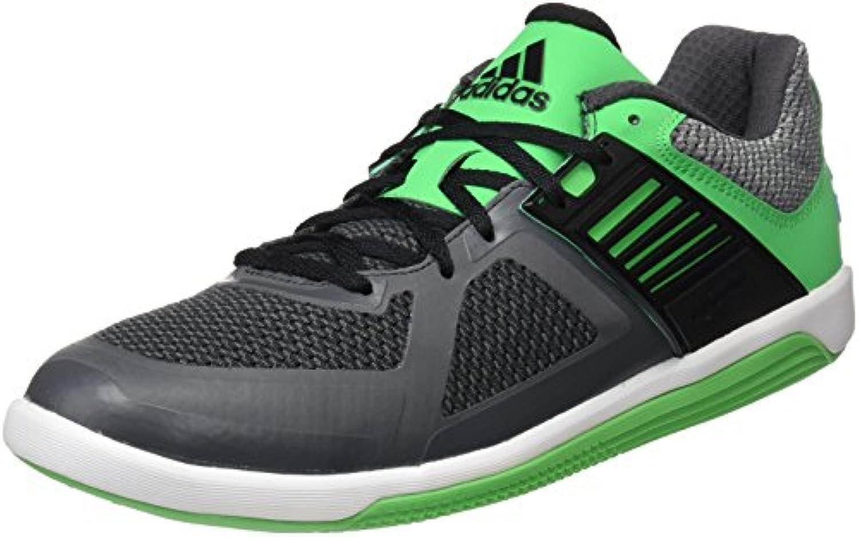 adidas Unisex-Erwachsene Valkryie Sneaker, Schwarz, 42 EU -