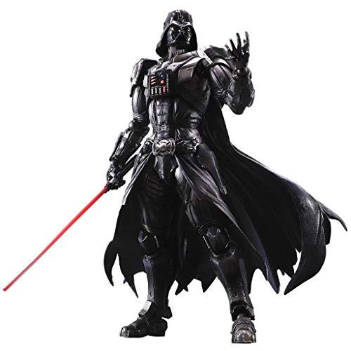 Siyushop Variant Play Arts Kai Darth Vader (PVC-Figur) - Schwarze Krieger-Actionfigur - Ausgestattet Mit Waffen Und Austauschbaren Händen - Hohe 26CM (Darth Action-figur Vader)