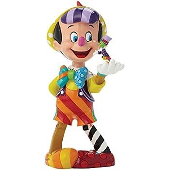 Enesco Disney By Britto 4046354 Figurine Pinocchio 75eme Anniversaire 20,5 cm