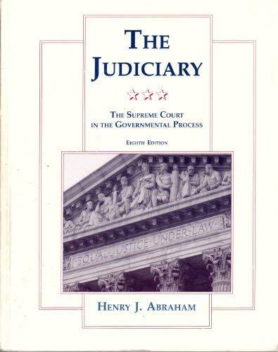 Judiciary 8e por Abraham