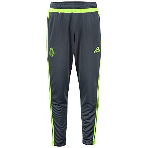 Pantalon Entrainement Real Madrid Gris/Jaune - S
