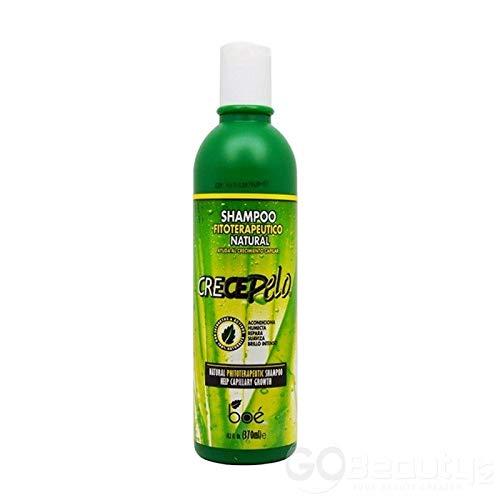 Crece Pelo shampoo 370 ML - natürliches Haarwachstumsshampoo - haarwachstum fördern, shampoo für feines haar 370ML