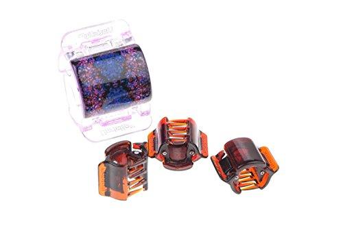 Haar-maxi (Linziclip® Haarspangen in 30 Farben Größe MAXI MIDI MINI braun schwarz - Haarclip für Mädchen & Damen   Haarklammern Set Kinder)