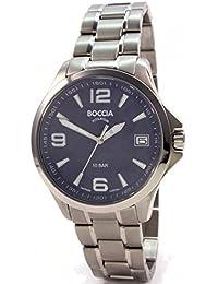 Boccia Herren-Armbanduhr Analog Quarz Titan 3591-03