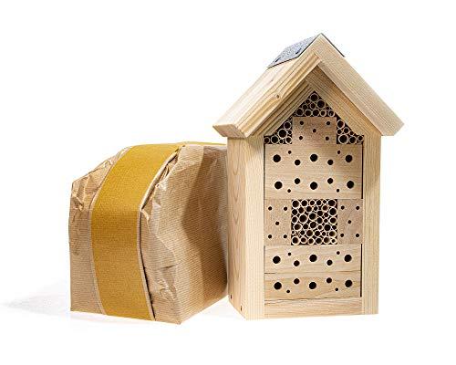 Insektenhotel-Bausatz aus zertifiziertem Holz