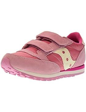 SAUCONY SC56452 JAZZ DBLE HL rosa fuxia scarpe bambina girls strappo