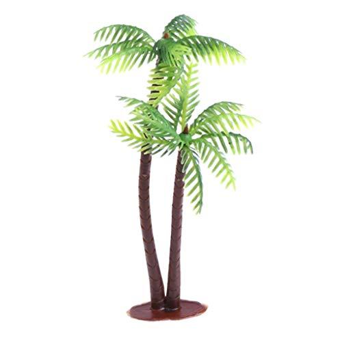 MCUSH Home Mini Paisaje Paisaje Modelo Artificial árbol de Coco decoración para el hogar Adornos