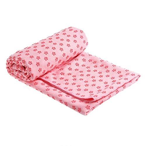 rutschfeste Baumwolle Yogamatte Teppich Pflaume Gepunktete Harz Handtuch Decke Schweiß absorbierende Handtuch für Sport Fitness Übung Pilates Supplies